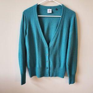Cabi Tearoom Knit Cardigan Sweater  Size Large